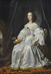 Mary Stuart Pricess of Orange 1652 - van der Helst